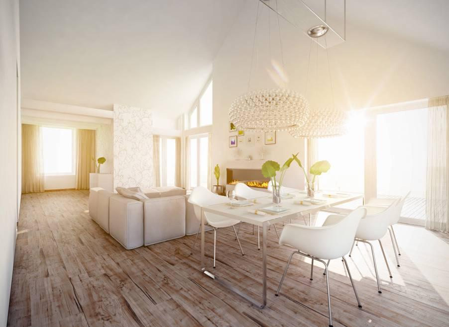 Wohnzimmer mit Wohlfühlcharakter.